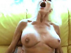 Huge Fake Tits Milf Fucked By Two Guys Porn Dd Xhamster
