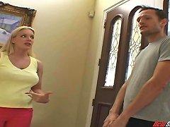 A Horny Milf Cheats On Her Husband With The Yoga Teacher