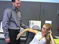 Sexy Blonde Cheats With Coworker Segment