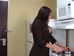 Curvy Brunette Milf Takes Black Cock And Facial In Motel