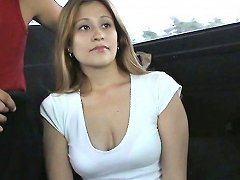 Amateur Cheating Housewife Orianna Gets Fucked In The Bangbus