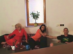 Mother In Law Takes It Hard From Behind