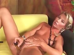 Hot Mom Janet Darling Fucks A Dildo