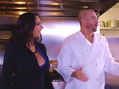 Veggie Fucking Slut At The Restaurant Wants Chef Cock