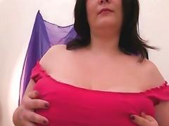 Bbw Mature Bitch Works Body With Vibrator