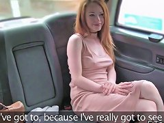 Petite Redhead Banged Till Facial In Fake Cab Upornia Com