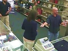 Customers Wife Banged By Perv Pawnkeeper