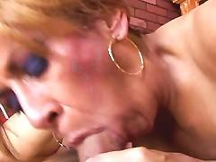 Gorgeous Ginger Cougar Enjoys A Hard Fuck