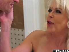 Lady Charm Charm Stepmom Lady S Wants To Fuck Hard Young Stepson