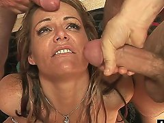 Naughty Chick Wants More Stiff Cocks