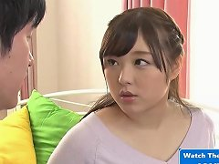 Hot Asian Milf Fucked By Her Husbands Boss