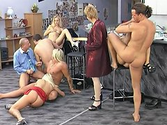 Blonde German Short Hair Milf Needs Cock For Supper Part 2