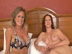 2 Hot Milfs A Bbc