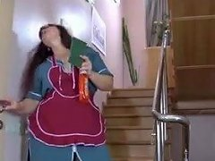 Mature Cleaning Lady Fucked By Younger
