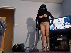 Bonniche Musulmane En Niqab