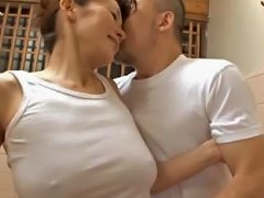 Japanese Housewife Gets Fucked Hard In The Tub