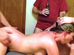 Slutty Amateur Blonde Milf With Gangbang Skills Hd Porn 5a