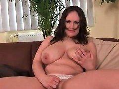 Milf Mandy Swings Her Big Tits On Camera