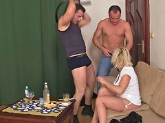 Hardcore 3some Orgy With Mature Blonde Porn A6 Xhamster